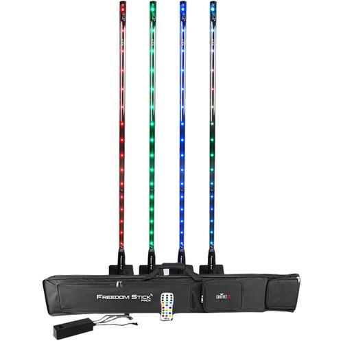 FREE SHIPPING! CHAUVET DJ Freedom Stick RGB LED Fixture (4-Pack)