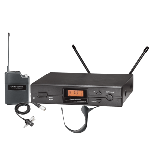 Audio-Technica 2000 Series UHF Wireless Headworn Microphone System