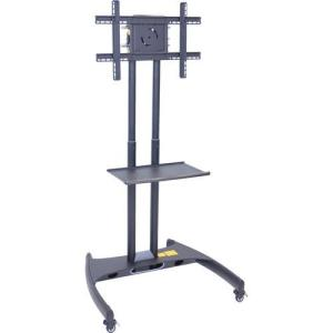 H .Wilson  FP2500 Series Adjustable Height LCD/LED TV Stand with Shelf