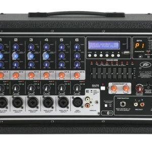 Peavey PVi 6500 6 Channel 400 Watt Powered Mixer