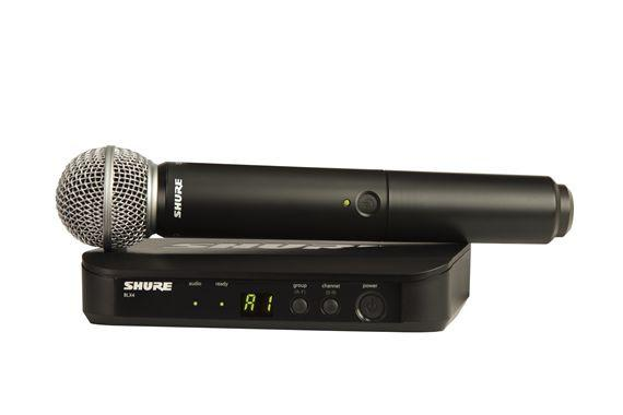 Shure BLX24SM58 Handheld Wireless Microphone System With SM58