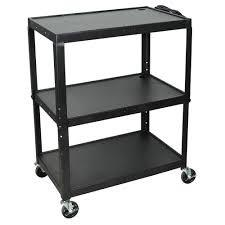 Luxor AVJ42XL - Steel Adj Height Extra Large AV Cart