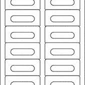 Avery 5198 Compatible Cassette Sheet Labels  1200 Pack