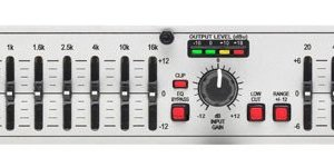 dbx 215S Dual 15 Band Equalizer