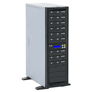 Recordex DVD900H One to Nine CD/DVD Duplicator with Hard Drive