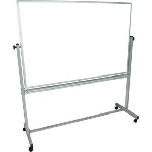 """Luxor MB6040WW Mobile Magnetic Reversible Whiteboard (60 x 40"""")"""