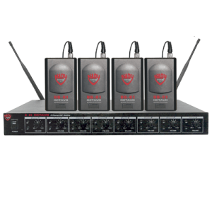 Nady U81 Lavalier Professional 8-Channel UHF Wireless Mic System