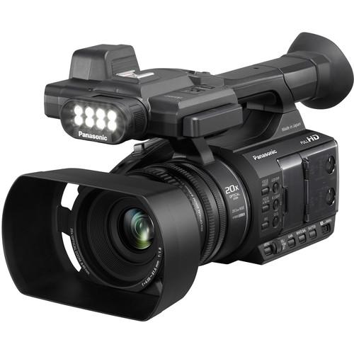 Panasonic AG-AC30 Full HD Camcorder with Touch Panel LCD Viewscreen and Built-In LED Light FREE SHIPPING!