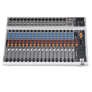 FREE SHIPPING! Peavey PV20USB-Channel Mixer With USB Input