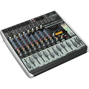 FREE SHIPPING! Behringer XENYX QX1222USB - 16-Input USB Audio Mixer with Effects