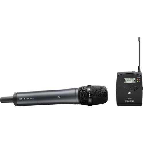 Sennheiser ew 135P G4 Camera-Mount Wireless Microphone System with 835 Handheld Mic