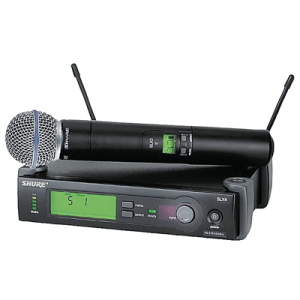 Shure SLX24/BETA58 Handheld Wireless Microphone System