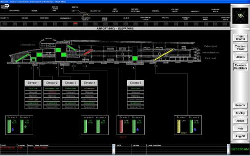 Central Control System Nucleus 01 Screenshot | B&C Transit Inc.