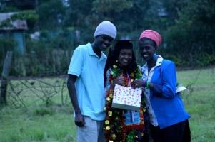 Churchmates and amazing friends Musanga and Keli