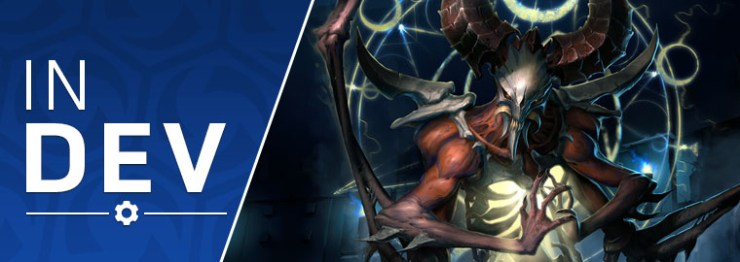 Heroes of the Storm: Latest 'In Development' adds brand-new hero Mephistos, new mounts, portraits and emojis