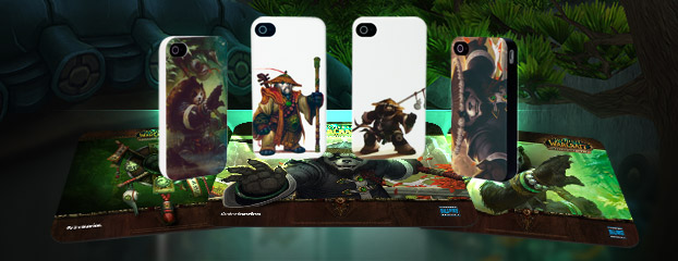 Mists of Pandaria iPhone Cases and Mousepads