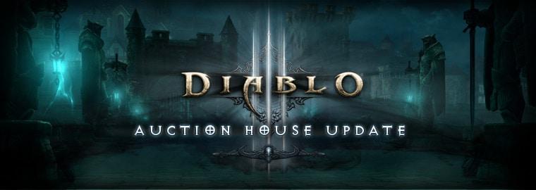 Diablo® III Auction House Update