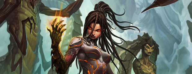 The StarCraft II Heart Of The Swarm Art And Technology