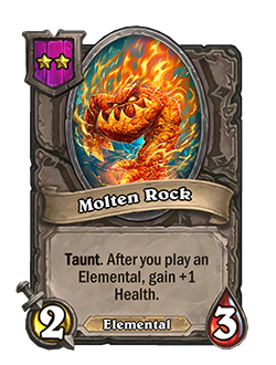 molten rock pictured