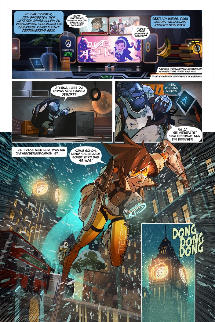 Digitaler Overwatch Comic Reflexionen Neuigkeiten Overwatch