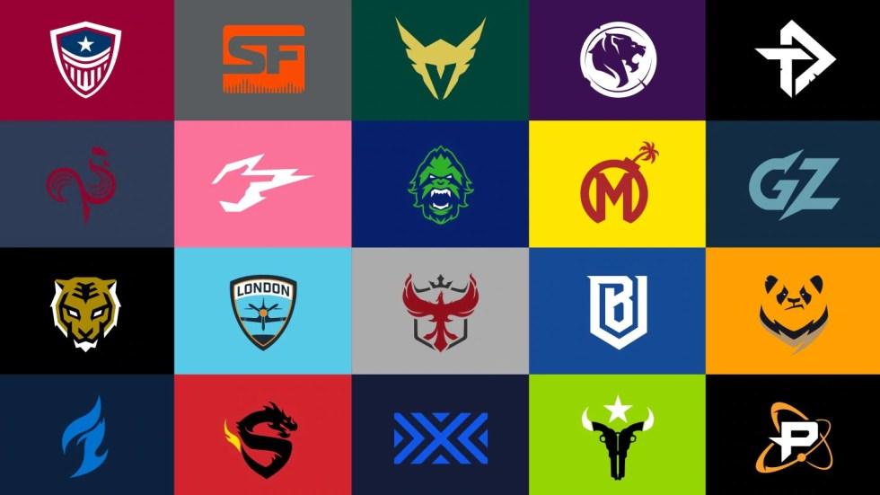Overwatch League team logos