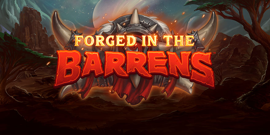 Forged in the Barrens Logo art
