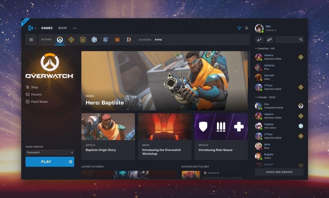 Beta de la nueva aplicación de Battle.net — Todas las noticias — Noticias  de Blizzard
