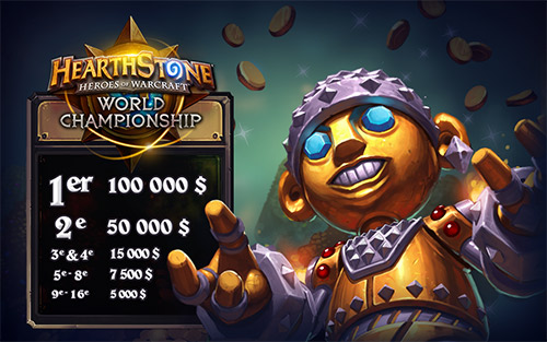 fonction World Championship 2015 Hearthstone