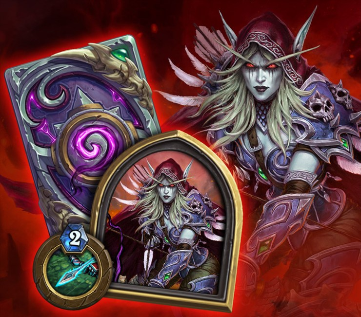 Hearthstone: Descent of Dragons: Sylvanas Windrunner becomes playable Hero in Battlegrounds