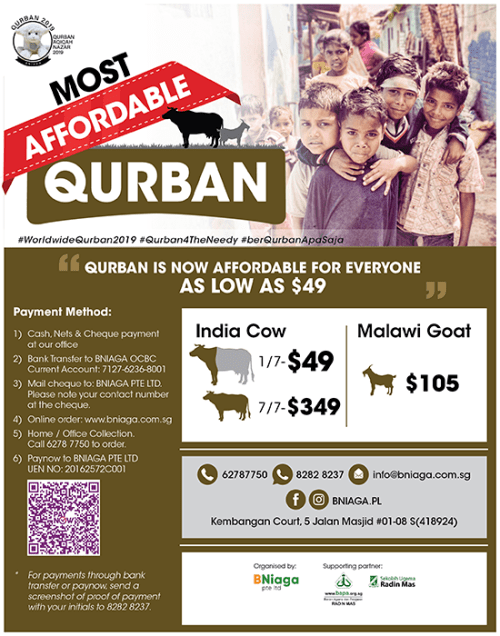 Qurban – Most Affordable