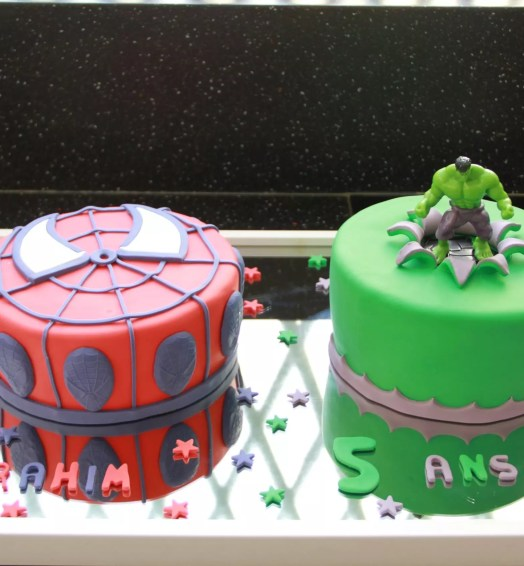 Hulk et Spiderman