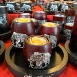 バンコク仕入れ市場「チャトゥチャック・ウィークエンド・マーケット」キャンドルホルダー を発見