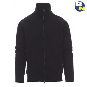 Abbigliamento-Antinfortunistica-felpa-zip-intera-nera