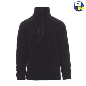 Abbigliamento-Antinfortunistica-pile-mezza-zip-nero