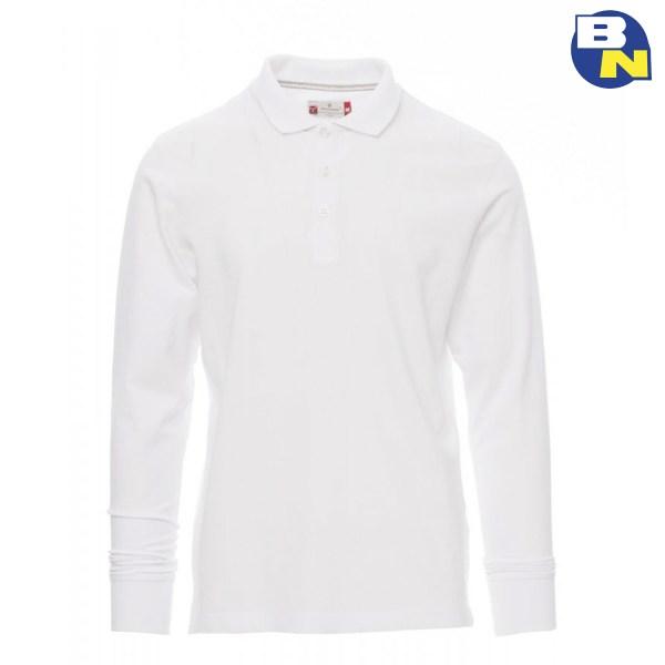 Abbigliamento-Antinfortunistica-polo-manica-lunga-bianca