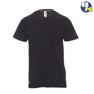 Abbigliamento-Antinfortunistica-t-shirt-manica-corta-nera