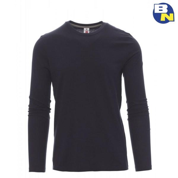 Abbigliamento-Antinfortunistica-t-shirt-manica-lunga-blunavy