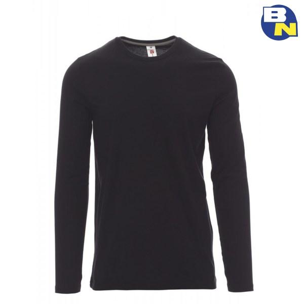 Abbigliamento-Antinfortunistica-t-shirt-manica-lunga-nera