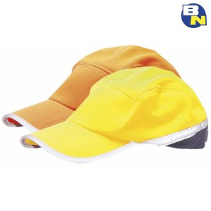 Abbigliamento-Pro-cappellino-con-visiera-ad-alta-visibilità