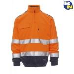 Abbigliamento-Pro-felpa-ad-alta-visibilità-arancio