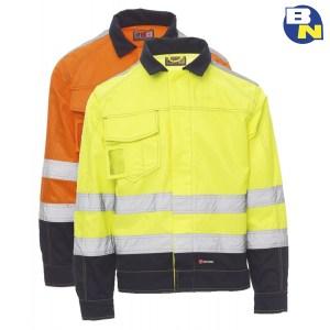 Abbigliamento-Pro-giubbino-ad-alta-visibilità-invernale