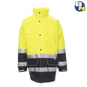 Abbigliamento-Pro-parka-4in1-alta-visibilità-giallo