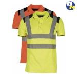 Abbigliamento-Pro-polo-ad-alta-visibilità