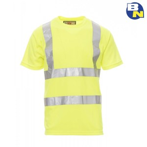 Abbigliamento-Pro-t-shirt-ad-alta-visibilità-gialla