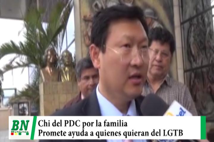 Campaña PDC, Chi Hyun por el Federalismo y descentralización, respeto a la familia y ayuda Psicológica a LGTB
