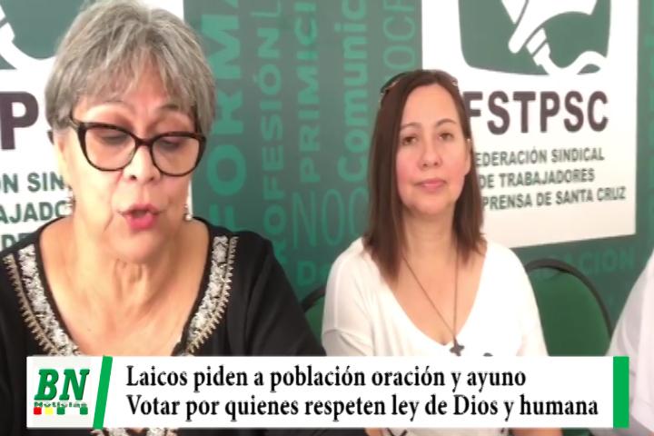 Elección 2019. Consejo de laicos piden orar y ayunar para que voten por respeto a Ley de Dios