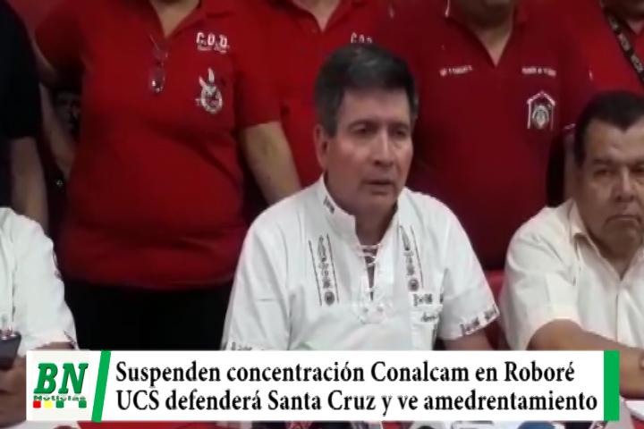 Candidata por UCS rechaza concentración de Conalcam en Roboré y  COD anuncia suspensión