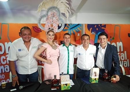 Flor de Caña fue nombrado el ron oficial del Carnaval Cruceño 2020