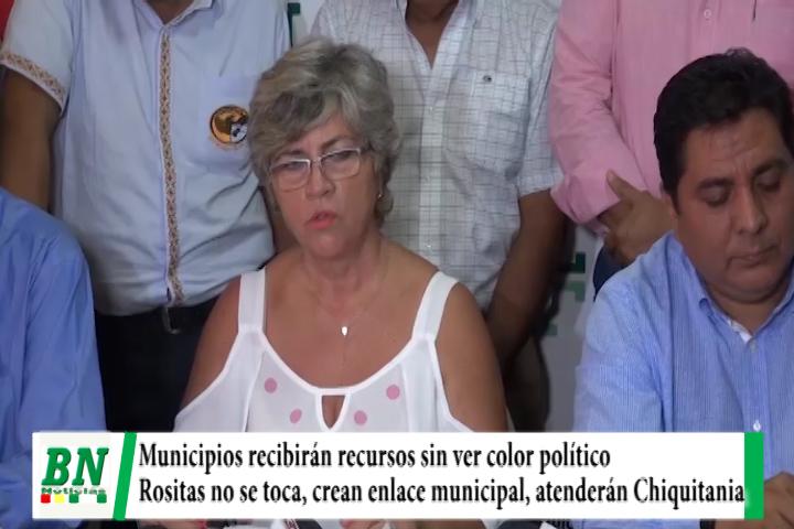 Gobierno garantiza recursos a municipios sin ver color político, descartan proyecto Rositas