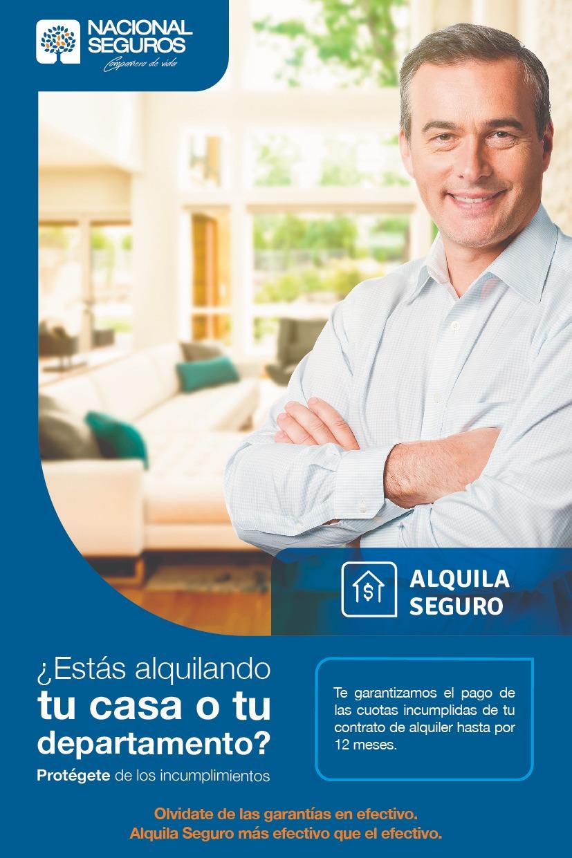 """Nacional Seguros lanza """"Alquila Seguro"""",un producto único en el mercado boliviano"""